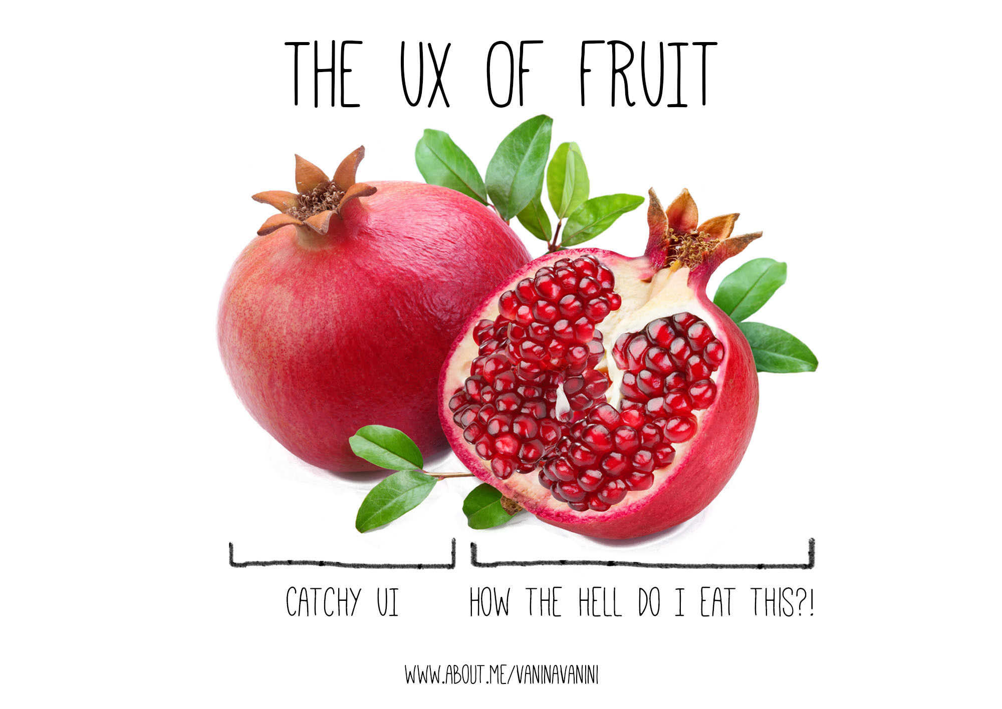 Fruit UX pomegranate